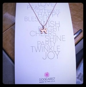 Dogeared: charm necklace